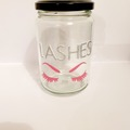For Sale: Lashes Storage Jar