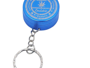 Post Products: Cannabis Keychain Grinder