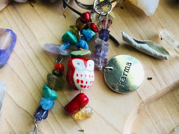 Selling with online payment: Chakra Sun Catcher Keychain