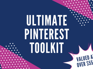 Offering online services: The Ultimate Pinterest Toolkit