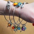 Selling with online payment: Florida Charm Expandable Bangle Bracelet