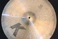 """Selling with online payment: ZILDJIAN K 20"""" Ride Cymbal"""