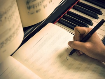 Online Payment - Group Session - Pay per Course: Songwriting
