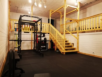 Vermiete Gym pro H: Privat Gym/Sportraum in Frohnau