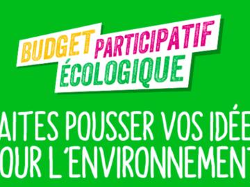 Actualité: Lancement du budget participatif écologique et solidaire