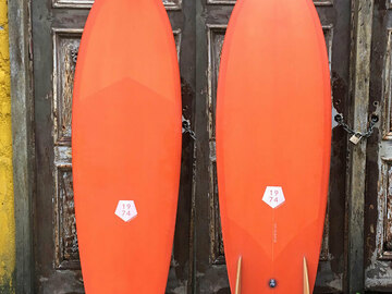 Monthly Rate: Fish surfboard