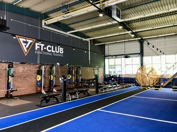 to rent gym with own price category (no calendar function): FT-CLUB München Olympiapark (50er)