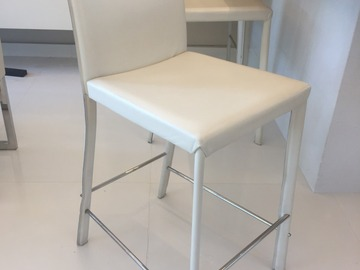 Selling with online payment: Modern Design Genuine Leather Bar Stool