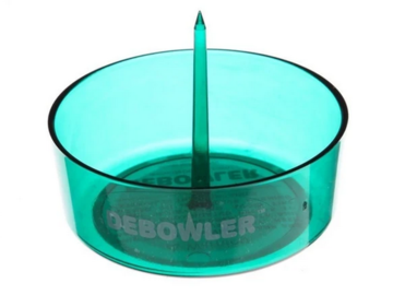 Post Products: Debowler - Transparent Green Ashtray