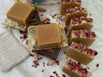 For Sale: Honey and Lavender soap