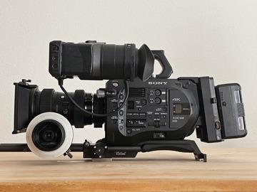 Vermieten: SONY FS7 Set (E, PL oder EF mount)