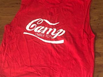 Selling A Singular Item: Camp Timber Tops sleeveless shirt