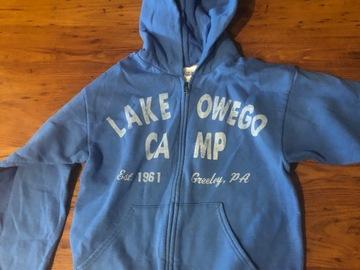 Selling A Singular Item: LOC a blue hoodie