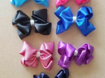 Selling with online payment: 4 inch Bows with Slider Clip