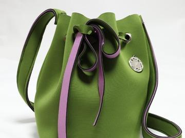 : Olive Green Bucket Bag