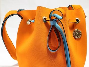 : Orange Bucket bag