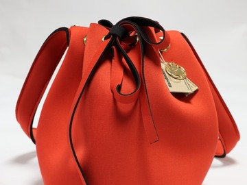 : Red Bucket Bag