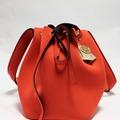 : Red Bucket Bag