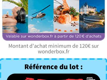 Vente: Code de réduction Wonderbox (30€)