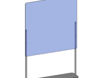 Sell your product: Freestanding Floor Divider