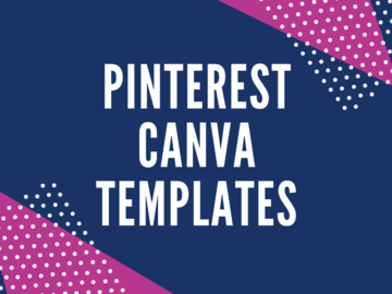 Offering online services: Easy to use Pinterest Templates