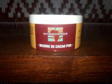 Vente avec paiement en direct: Beurre de Cacao PUR