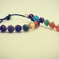 Selling with online payment: Chakra Pendant & Bracelet Gift Set
