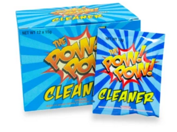 Post Now: The Pow Pow Cleaner - Box of 12 Pouches