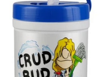 Post Now: Crud Bud Multipurpose Cleaning Wipes