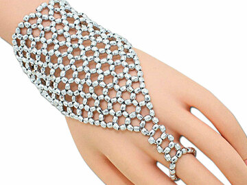 Buy Now: 50 Exotic Wedding Fashion Beaded Slave Bracelet $600MSRP