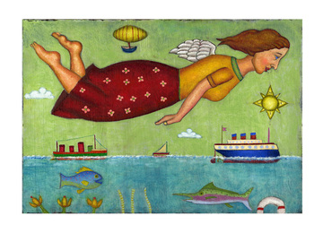 Selling with online payment: Angel at Sea Cards ( 6 in a pack )