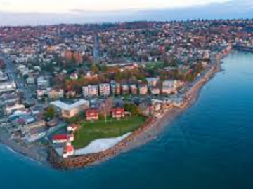 Monthly Rentals (Owner approval required): Alki Beach, Seattle Off site parking near many attractions