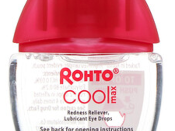 Post Products: Rohto, Cooling Eye Drops, Max Strength Redness Relief, 0.4 fl oz