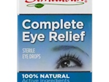 Post Products: Similasan, Complete Eye Relief, Sterile Eye Drops, 0.33 fl oz (10