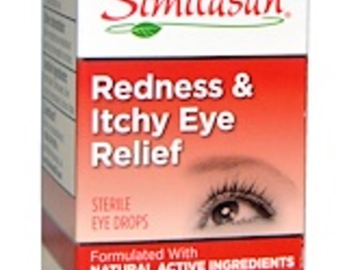 Post Products: Similasan, Redness & Itchy Eye Relief, 0.33 fl oz (10 ml)