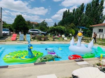 NOS JARDINS A LOUER: Jardin&  piscine