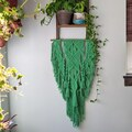 Selling: Macrame Wall Hanging - Bright Green