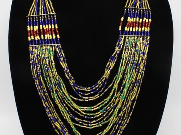 Buy Now: Dozen New Multi Strand Bead Necklaces by MIXIT $336 Value