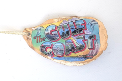 Selling with online payment: Local Handcrafted Christmas Oyster Ornaments