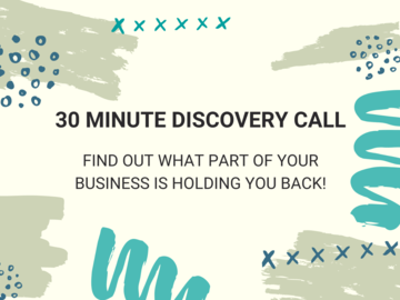 Offering expert consultation: 30 Minute Healthy Business Discovery Call