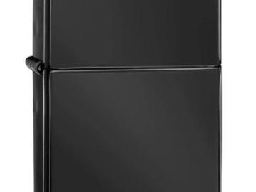 Post Products: Zippo Lighter - Ebony w/Zippo Logo