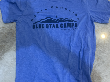 Selling A Singular Item: Blue Star Shirt