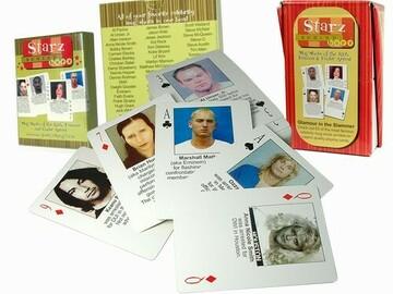Liquidation/Wholesale Lot: 24  decks--  Vintage Starz Behind Bars Playing Cards-- $1.49 pcs