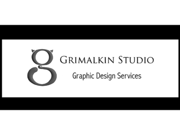 Contact us for more information: Graphic Design Services From Grimalkin Studio