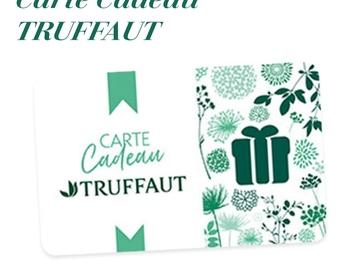 Vente: e-Carte cadeau Truffaut (100€)