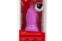 Buy Now:  (96) Pink Dual Slot USB Car Chargers