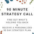Offering expert consultation: 90 Minute Strategy Planning Call