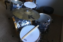 Selling with online payment: Gretsch USA Custom Midnight Blue Pearl 1999