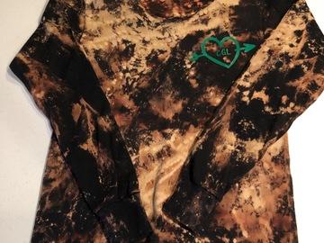 Selling A Singular Item: Bleached long sleeved t-shirt
