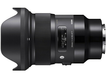 Renting out with online payment: Sigma 24mm f/1.4 DG HSM Art Lens for Sony E